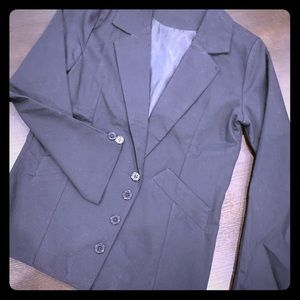 Boys black blazer.